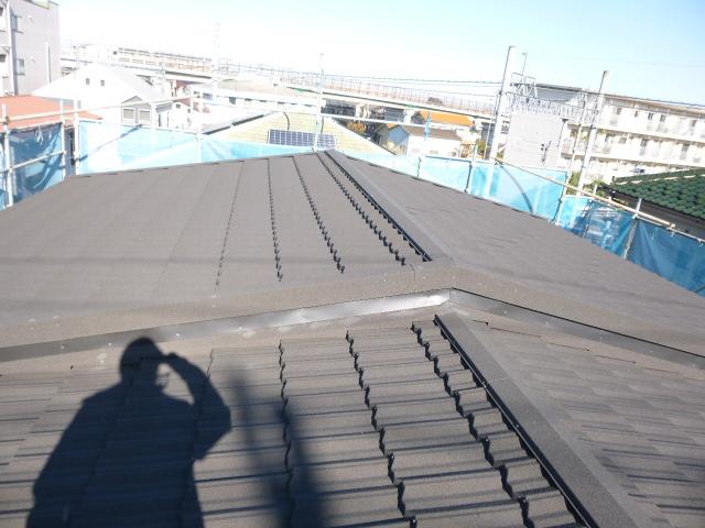 屋根のリフォーム施工例