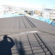施工後 金属屋根