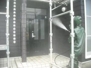外壁塗装施工例